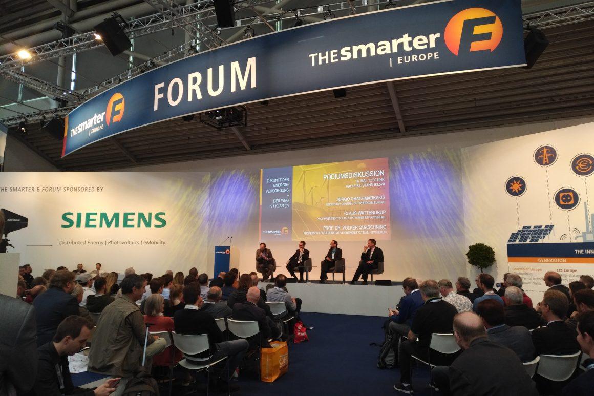 Delegation zum The Smarter E Europe in München