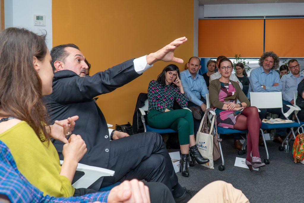 Konsultation Entwiklungsstrategie der Stadt Bukarest für das Jahr 2050 – Debatte mit Mitglidern der AHK Rumänien