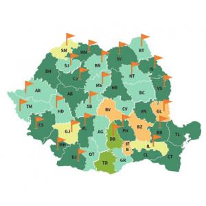 """Lansarea broșurii proiectului """"Managementul deșeurilor și Reciclarea în România II – Transfer de tehnologie orientat spre soluții"""""""