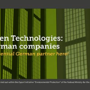 German Green Technologies – indexul companiilor germane