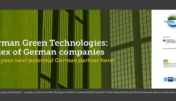 German Green Technologies – the index of German companies