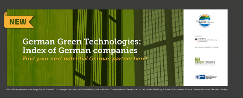 German Green Technologies – the index of German companies