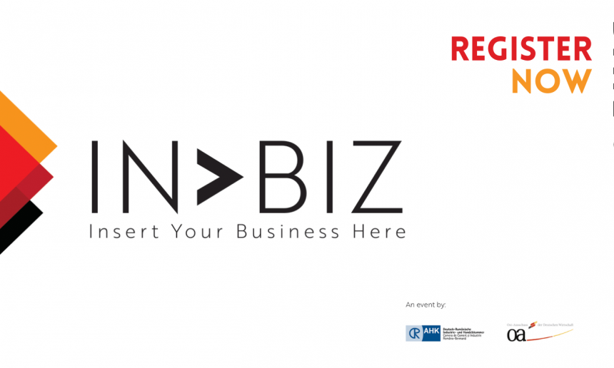 IN BIZ Economic Conference – Romania in dialogue with German businesses