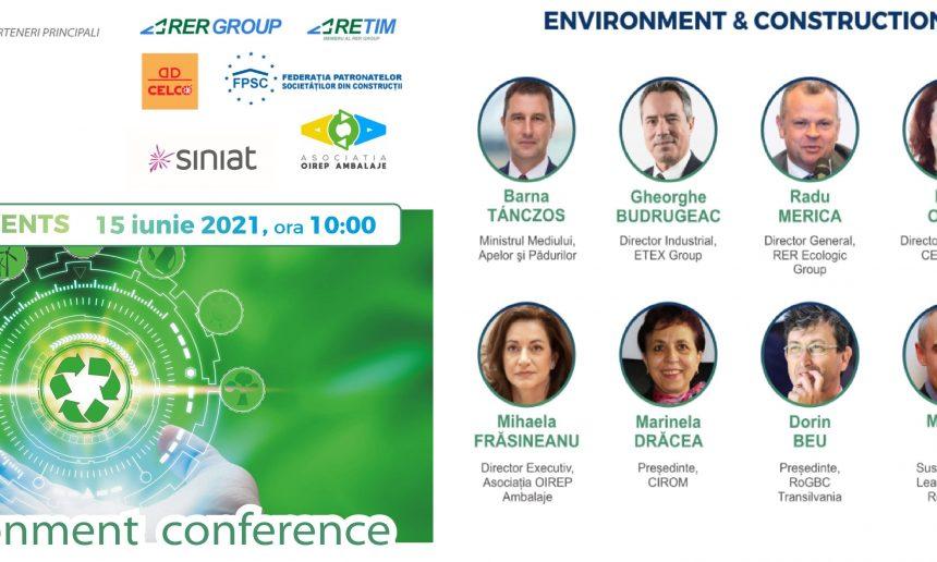 Conferință online PRIA Environment and Construction Industry