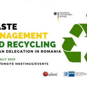 """Delegație de afaceri hibridă """"Reciclarea și managementul deșeurilor"""""""